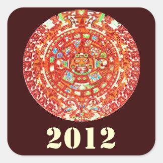 Mayan Calendar 2012 Design Stickers