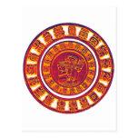 Mayan Calendar 2012 Postcard