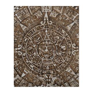 Mayan Calendar Acrylic Wall Art
