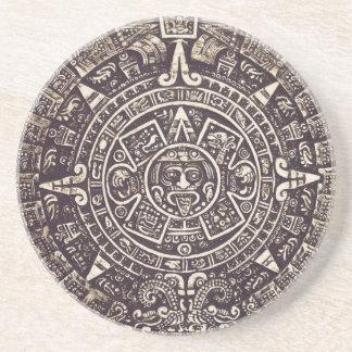 Mayan Calendar Art coaster