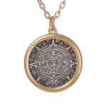 Mayan Calendar Art necklace