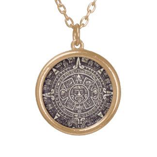 Mayan Calendar Art necklace