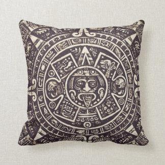 Mayan Calendar Art pillow