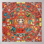 Mayan Calendar Art Print