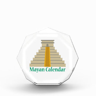 Mayan Calendar Acrylic Award