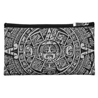 Mayan Calendar Makeup Bag