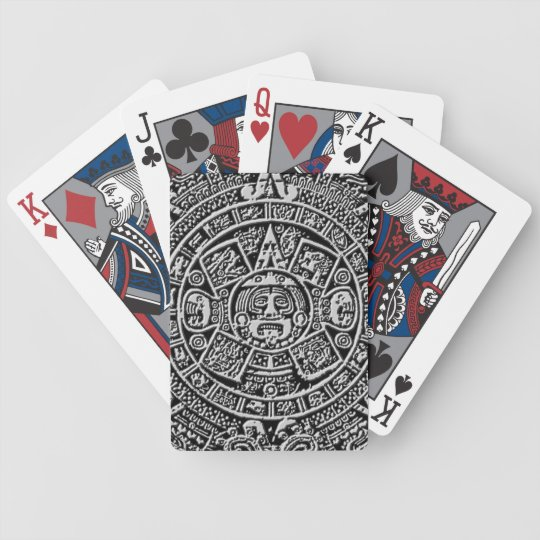 Mayan Calendar Bicycle Playing Cards