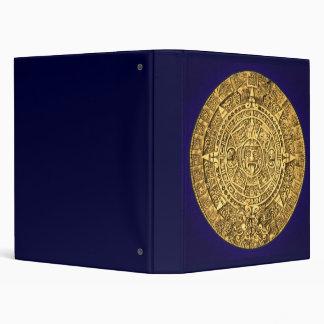 mayan calendar 3 ring binders