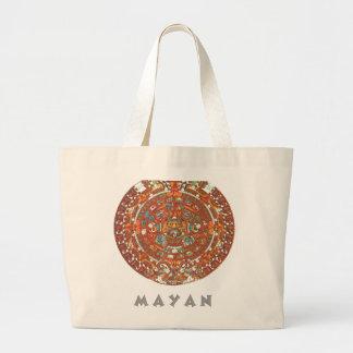 Mayan Calendar Canvas Bag