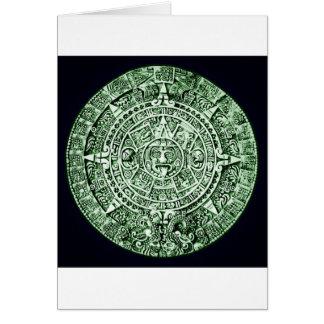 mayan calendar card