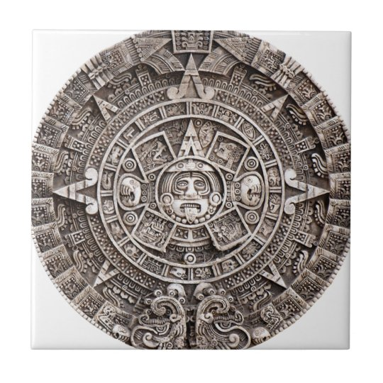 Mayan Calendar Ceramic Tile Zazzle