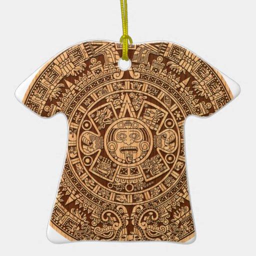 Mayan Calendar Christmas Ornament