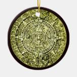 mayan calendar christmas tree ornaments