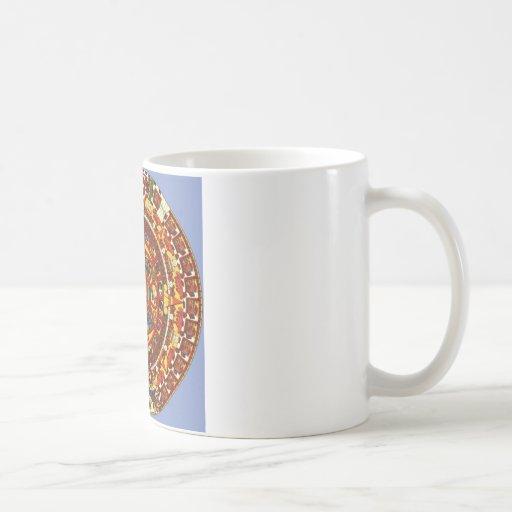 mayan calendar classic white coffee mug
