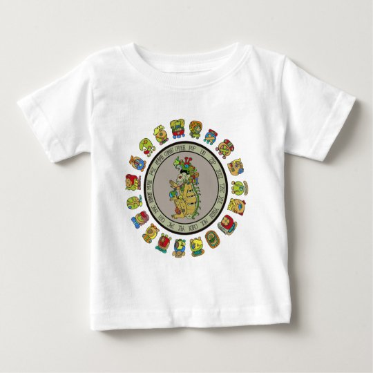 Mayan-calendar Death God Baby T-Shirt