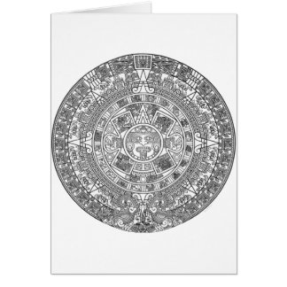 Mayan Calendar Dec.21, 2012 - high quality details Card