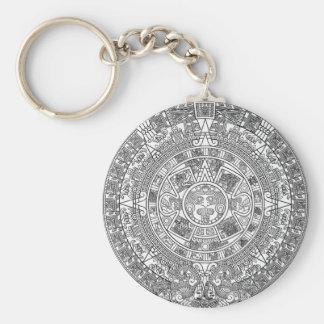 Mayan Calendar Dec.21, 2012 - high quality details Keychain