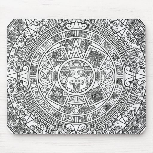 Mayan Calendar Dec.21, 2012 - high quality details Mousepad