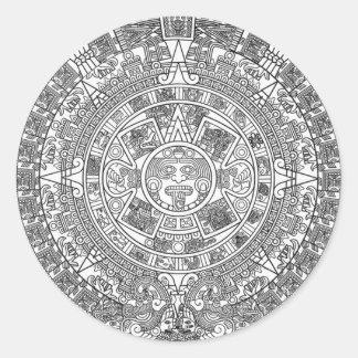Mayan Calendar Dec.21, 2012 - high quality details Sticker
