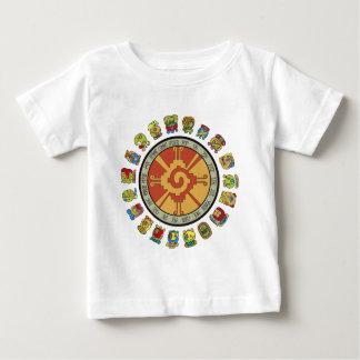 Mayan Calendar Design Baby T-Shirt