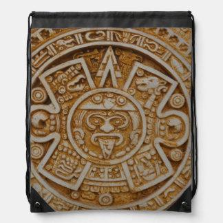 Mayan Calendar Drawstring Backpack