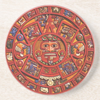 Mayan Calendar Drink Coaster