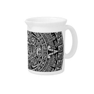 Mayan Calendar Drink Pitcher