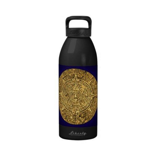 mayan calendar drinking bottles