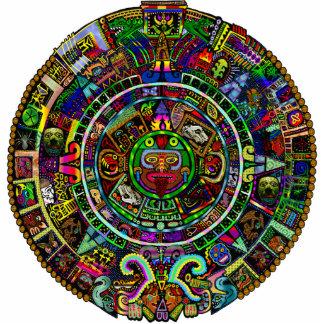Mayan Calendar inspiration sculpture Cut Out