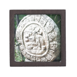 Mayan Calendar Jewelry Box