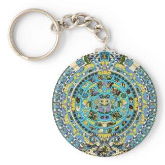 mayan calendar key chains