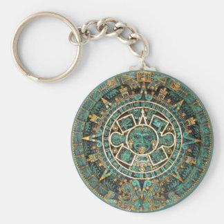 Mayan Calendar Keychain