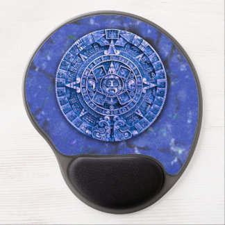Mayan Calendar (Lapis Lazuli) Gel Mouse Pad