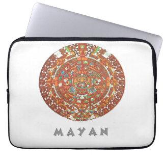 Mayan Calendar Laptop Computer Sleeve