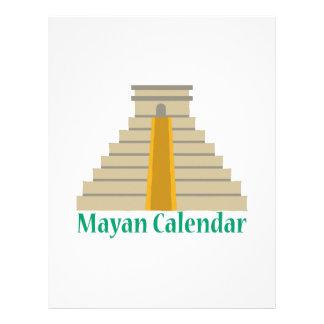 Mayan Calendar Letterhead