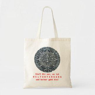 Mayan Calendar / Maya Kalender Budget Tote Bag