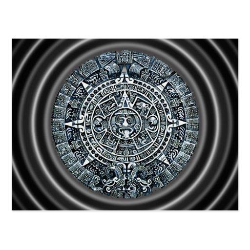 Mayan Calendar / Maya Kalender Postcard