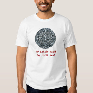 Mayan Calendar / Maya Kalender Shirt