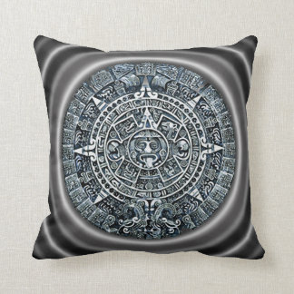 Mayan Calendar / Maya Kalender Throw Pillow