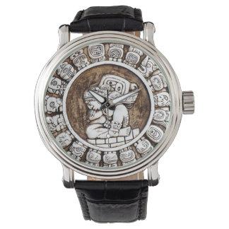 Mayan Calendar Mens Watch
