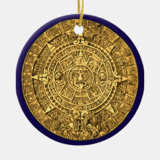 mayan calendar christmas ornaments
