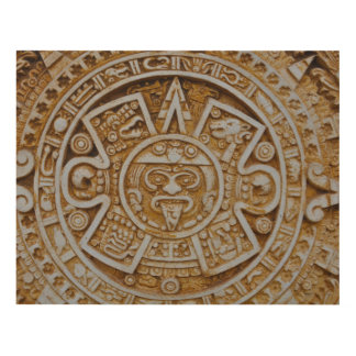 Mayan Calendar Panel Wall Art