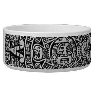 Mayan Calendar Dog Bowls