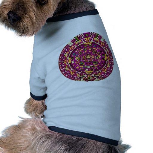 mayan calendar pet tshirt