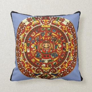 mayan calendar pillow