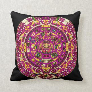 mayan calendar throw pillow