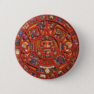 Mayan Calendar Pinback Button