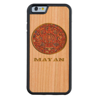 Mayan Calendar products Carved Cherry iPhone 6 Bumper Case
