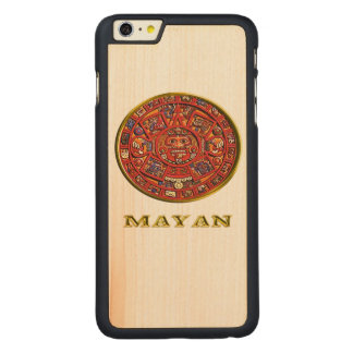 Mayan Calendar products Carved Maple iPhone 6 Plus Slim Case