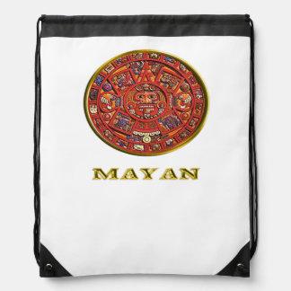 Mayan Calendar products Drawstring Bag